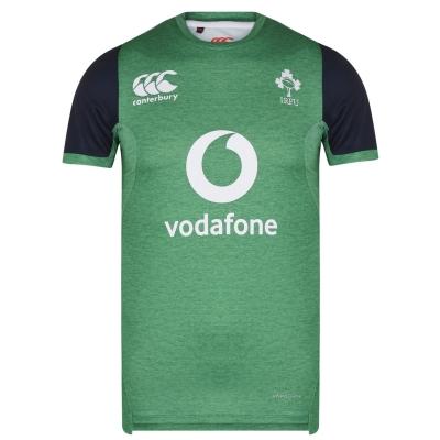 Tricou Canterbury Ireland Drill pentru Barbati verde gri