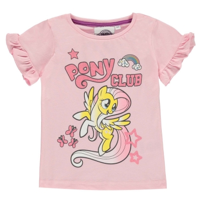 Tricou Casual pentru fete pentru Bebelusi cu personaje