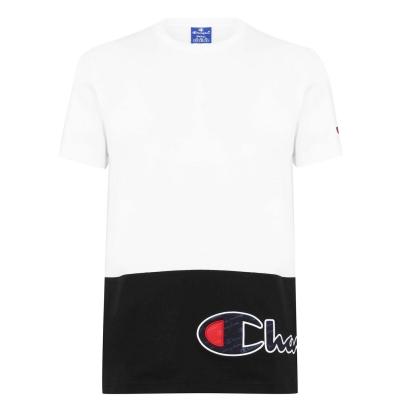Tricou Champion Cut + Sew alb ww001