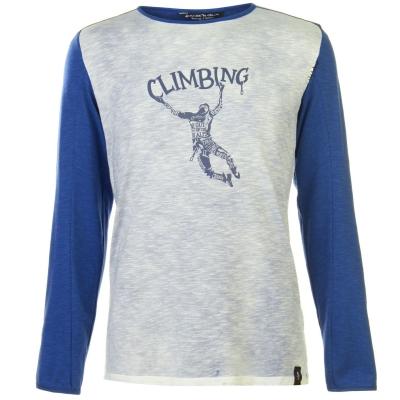 Tricou Chillaz Alaro pentru Barbati inchis albastru