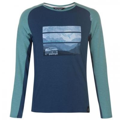 Tricou Chillaz Krabi Take Your Time pentru Barbati albastru