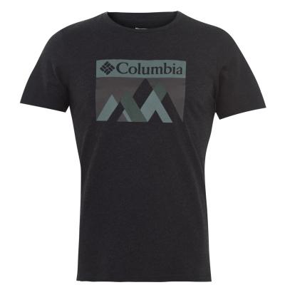 Tricou Columbia Alpine Way pentru Barbati negru peak
