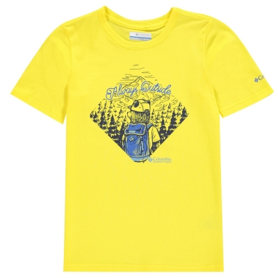 Tricou Columbia pentru baietei autzen urs