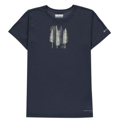 Tricou Columbia Ranco pentru fetite bleumarin grizz