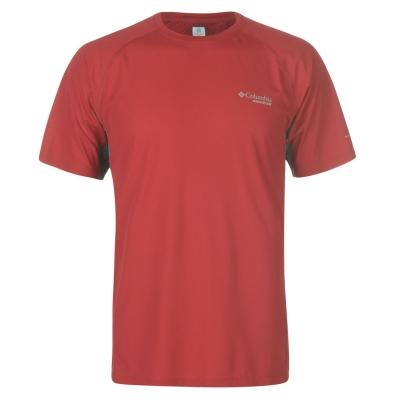Tricou Columbia Titan pentru Barbati rosu catifea