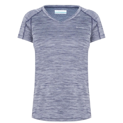 Tricou Columbia Zero pentru Femei bleumarin mov