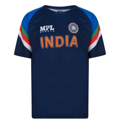 Tricou crichet MPL Sports India Stadium pentru Barbati bleumarin