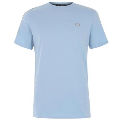 Tricou Criminal Damage Arm cu dungi albastru