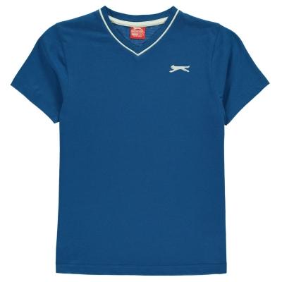 Tricou Slazenger cu decolteu in V pentru baietei