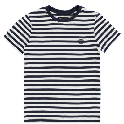 Tricou Henri Lloyd Henri Lloyd cu dungi pentru baietei bleumarin blazer