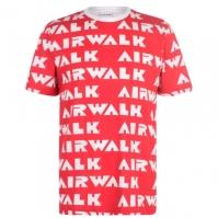 Tricou cu imprimeu Airwalk Repeat
