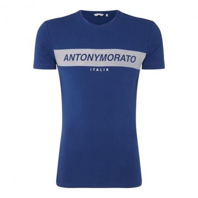 Tricou cu imprimeu Antony Morato cauciuc