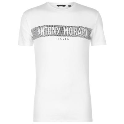 Tricou cu imprimeu Antony Morato cauciuc alb