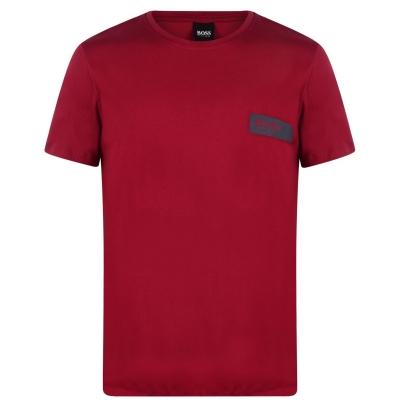 Tricou cu imprimeu Boss RN24 rosu
