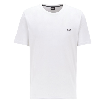 Tricou cu imprimeu Boss Small alb