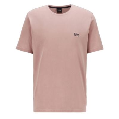 Tricou cu imprimeu Boss Small roz