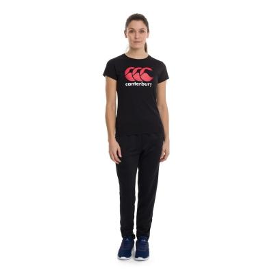 Tricou cu imprimeu Canterbury negru