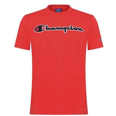 Tricou cu imprimeu Champion rosu rs041