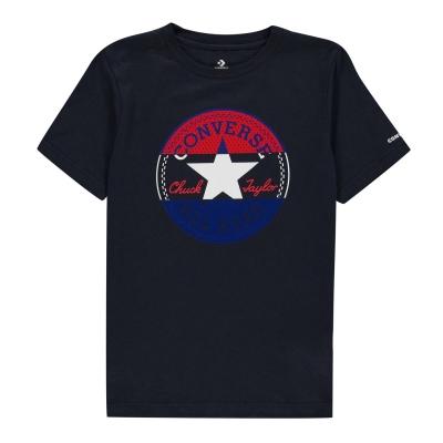 Tricou cu imprimeu Converse cu Maneca Scurta pentru baietei