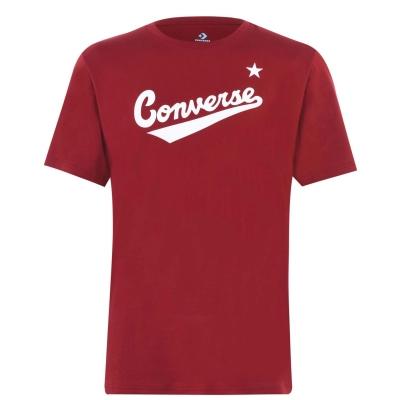 Tricou cu imprimeu Converse Nova team rosu