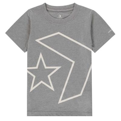 Tricou cu imprimeu Converse Sleeve
