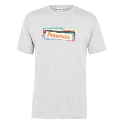 Tricou cu imprimeu Fourworks pentru Barbati multicolor