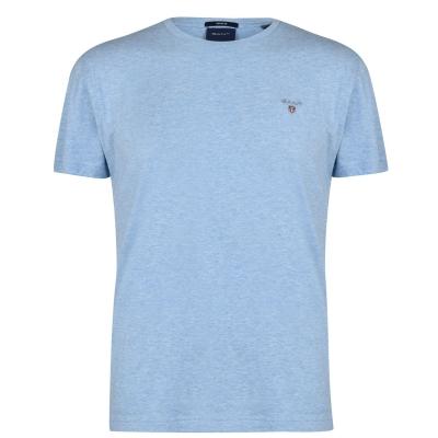 Tricou cu imprimeu Gant Crew deschis albastru