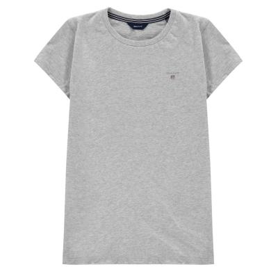 Tricou cu imprimeu Gant gri