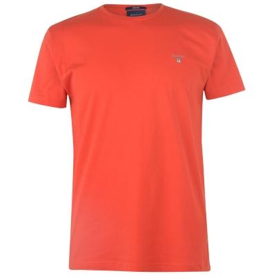 Tricou cu imprimeu Gant Gant rosu