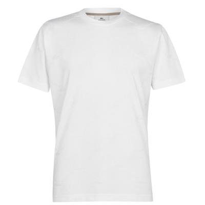 Tricou cu imprimeu Lacoste Live alb