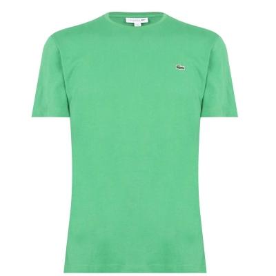 Tricou cu imprimeu Lacoste verde qmn