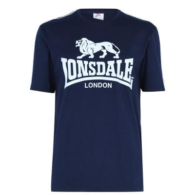 Tricou cu imprimeu Lonsdale Large pentru Barbati bleumarin