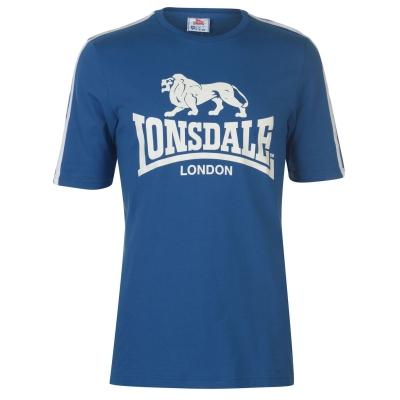 Tricou cu imprimeu Lonsdale Large pentru Barbati albastru