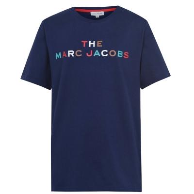 Tricou cu imprimeu MARC JACOBS Multi Coloured pentru baietei medivl albastru 84n