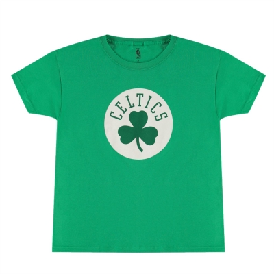 Tricou cu imprimeu NBA Juniors verde