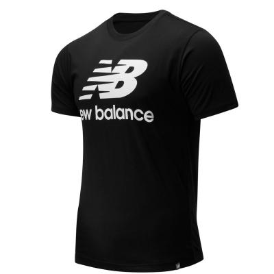 Tricou cu imprimeu New Balance Stack negru