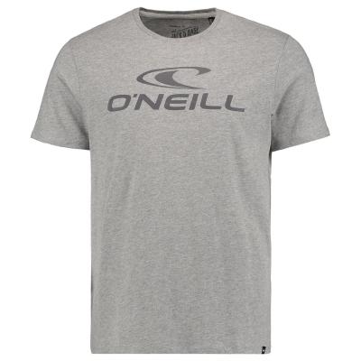Tricou cu imprimeu ONeill Large pentru Barbati argintiu melee