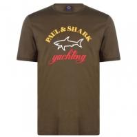 Tricou cu imprimeu Paul And Shark