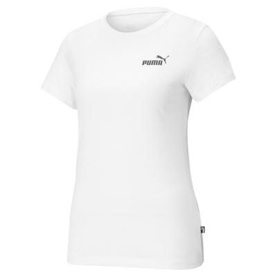 Tricou cu imprimeu Puma Small pentru Femei alb