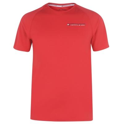 Tricou cu imprimeu Tommy Sport rosu