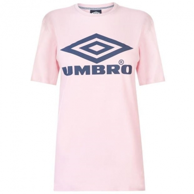 Tricou cu imprimeu Umbro Umbro pentru Femei roz