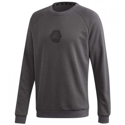 Tricou cu logo Adidas Tan Crew Sweat gri FM0861