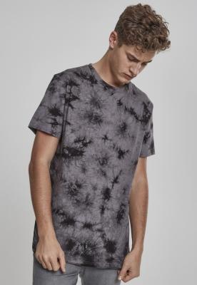 Tricou cu model special Batik gri-negru Urban Classics