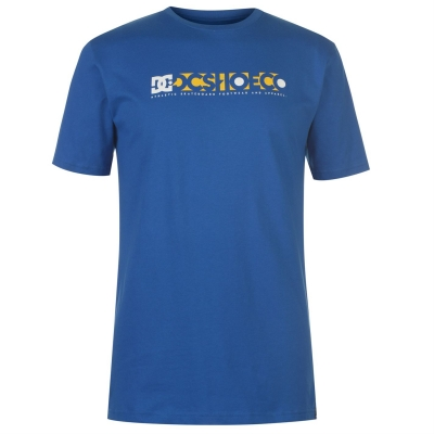 Tricou DC Program SS pentru Barbati albastru