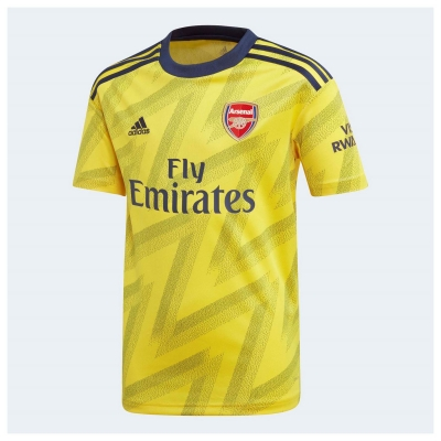 Tricou Deplasare adidas Arsenal 2019 2020 pentru copii galben