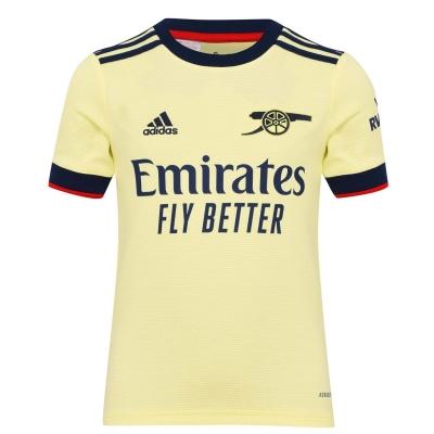 Tricou Deplasare adidas Arsenal 2021 2022 pentru copii galben