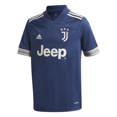 Tricou Deplasare adidas Juventus 2020 2021 pentru copii albastru