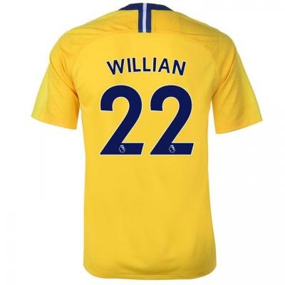 Tricou Deplasare Nike Chelsea Willian 2018 2019 galben