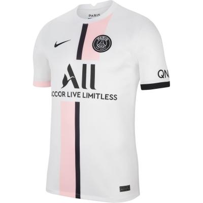 Tricou Deplasare Nike Paris Saint Germain 2021 2022 alb