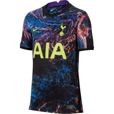 Tricou Deplasare Nike Tottenham Hotspur 2021 2022 pentru copii negru verde